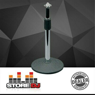 DL Telescopic Desktop Mic Stand w/ Weighted-Base