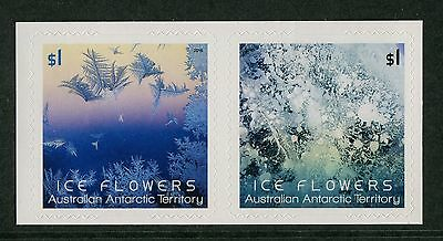 ICE FLOWERS 2016 - MINT EX-BOOKLET SELF-ADHESIVES Config B (GO230)
