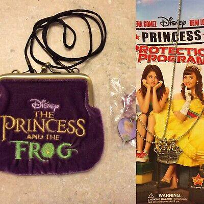 "Disney - TINKERBELL"" CHARM BRACELET & PRINCESS AND THE FROG"" PURSE"