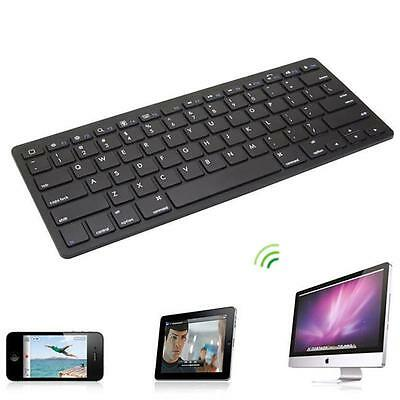 Black Delicate Slim Mini Wireless Bluetooth Keyboard For Windows Android IOS New