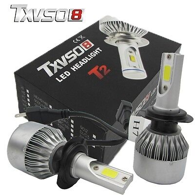 110W H7 CREE 20000LM Phare LED Ampoule Light Headlight Kit 6000K Voiture Feux