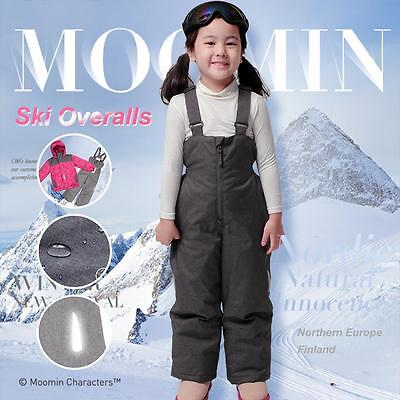 The Moomins Girls ski overalls pants trousers winter snow suit overall character