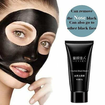 Pilaten Black Mud Blackhead Remover Face Mask Deep Cleansing Peel Treatment HOT