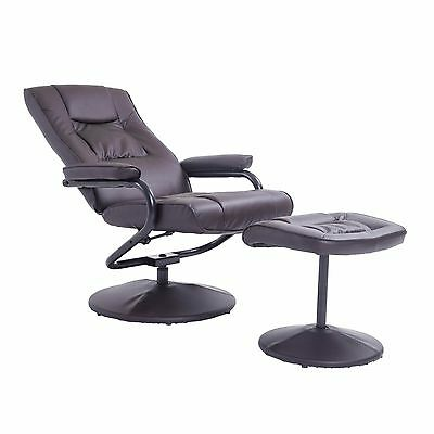 Wondrous Leather Recliner And Ottoman Set Black Contemporary Uwap Interior Chair Design Uwaporg