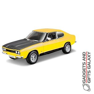 BBURAGO FORD CAPRI RS2600 1:32 SCALE DIECAST MODEL CAR collectors gift toy adult