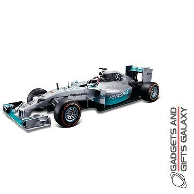 BBURAGO F1 2014 MERCEDES AMG TEAM 1:32 SCALE DIECAST MODEL CAR collectors gift
