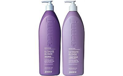 Juuce Ultimate Blonde Shampoo 1 Litre And Conditioner 1 Litre Free Shipping