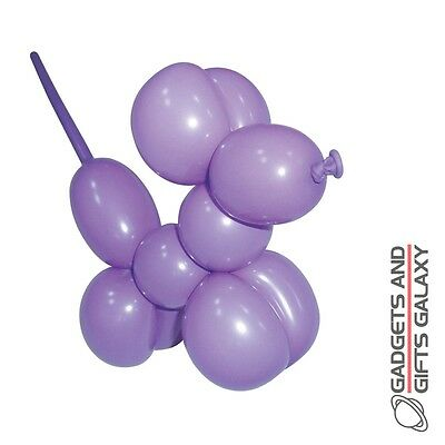 MODELLING BALLOONS x 16 COLOURED BALLOONS + HAND PUMP toy gift novelty childs