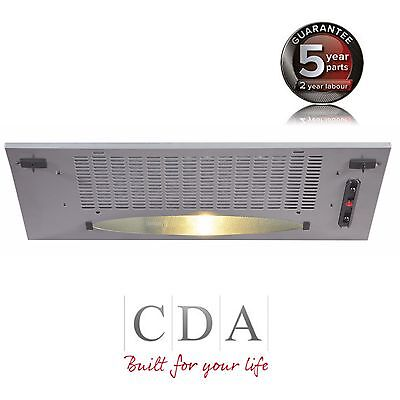 CDA CCA5SI 50cm Under Canopy Cooker Hood Extractor Fan In Silver