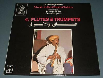 MUSIC IN THE WORLD OF ISLAM flutes & trumpets 1976 UK TANGENT STEREO LP