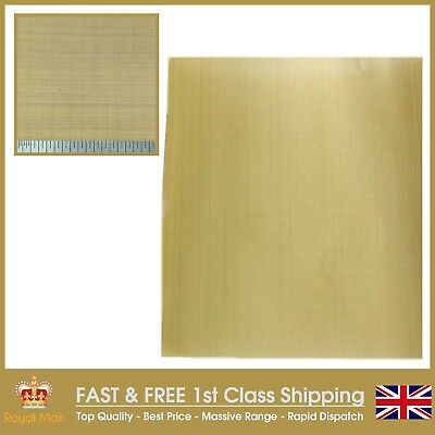 FINE BRASS MESH WOVEN WIRE - FILTER OIL BARGAIN - A5 Sheet 210 x 300mm