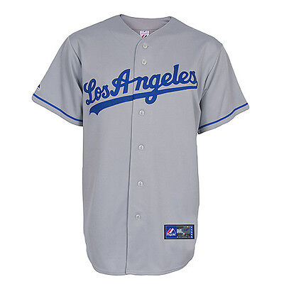 LA Dodgers Replica MLB Road Jersey Small