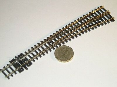 SL-E386 PECO Streamline Insulfrog Code 80 Right Hand Point Curve N Gauge Track