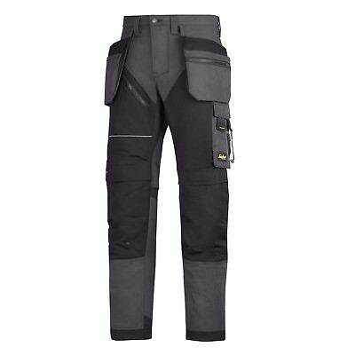 Snickers Trousers 6202 Ruffwork Holster Pocket Trousers Mens Steel Grey