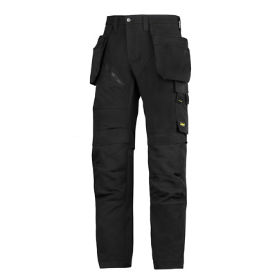 Snickers Trousers 6203 Ruffwork Holster Pocket Trousers Mens Black SnickerDirect