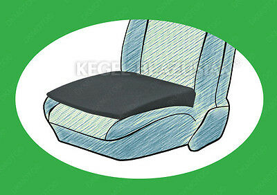 SEAT SUPPORT WEDGE HEIGHT BOOSTER CAR CUSHION fit VW Golf