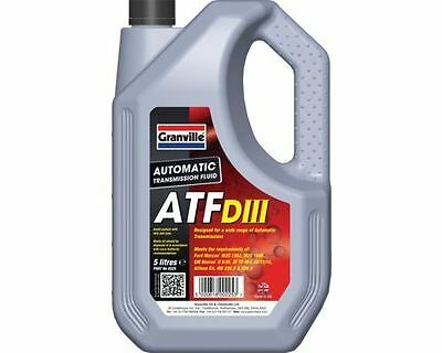 Granville Atf Iii 3  Dexron  Automatic Transmision Fluid Oil (0225) 5L