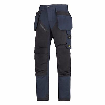 Snickers Trousers 6203 Ruffwork Holster Pocket Trousers Mens Navy Direct
