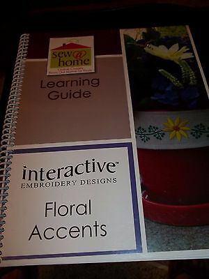 Babylock Sew At Home Learning Guide Interactive Floral Accents Workbook Instruct