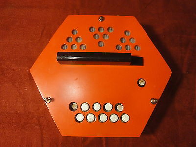 Silvetta Concertina Repair Part - GC Right Hand Section