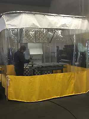 Portable Paint Booth >> Portable Paint Booth Pn 10041 To 10048 Manufactured Assembled In