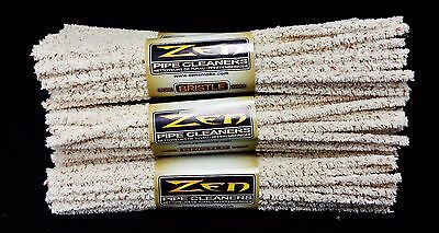 6 Bundles of 44 Count ( Zen Hard Pipe Cleaners ) Absorbent Bristle 264 Pieces