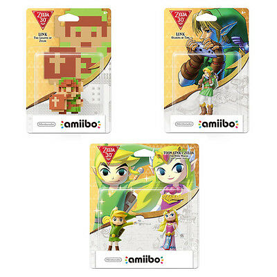 Legend of Zelda 30th Anniversary amiibo Set Preorder -
