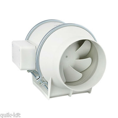 "Envirovent SILMV160/100S In-Line ""Silent"" Extractor Fan (Standard Model)"