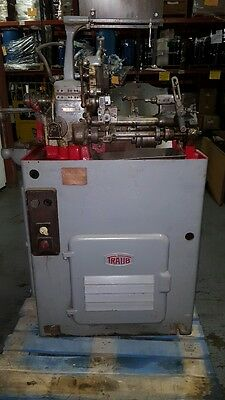 Traub Screw Machine Mdl. A25, 220V, 60-Cycle, 3 Phase