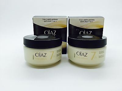 X2 OLAZ ( OLAY )Total Effects 7in1 Night care Anti Age 50ml night Cream Face (A9