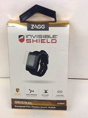 Zagg Invisible Shield For Pebble Smart Watch Original Screen