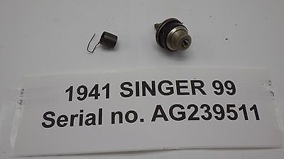 Vintage Original SINGER Sewing Machine Model 99 Thread Tension Assembly