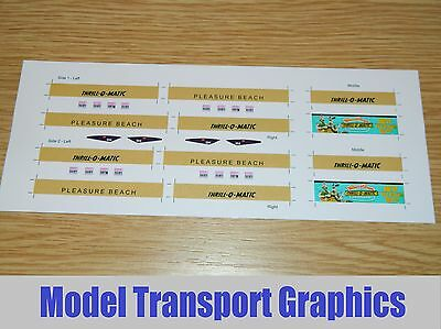 Thrill-O-Matic Gold Advertising decal for Halling Blackpool Flexity Tram 004