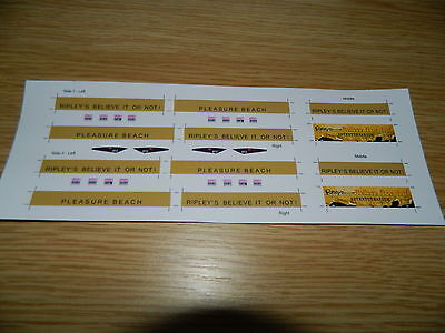 Ripleys Pleasure Beach Advert decals for Halling Blackpool Flexity Tram 013