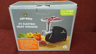 Game Winner #5 Electric Meat Grinder and Sausage Stuffer
