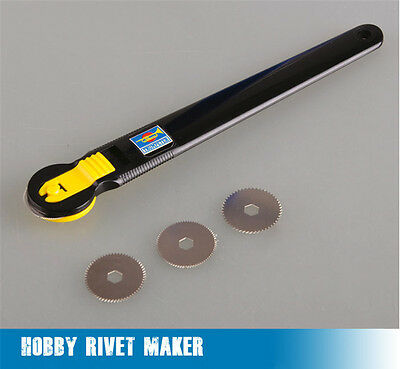Trumpeter Master Tools 09910 Hobby Rivet Maker Tool for Assemble Model(4 Blades)