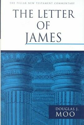 The Letter of James by Douglas J. Moo Hardcover Book
