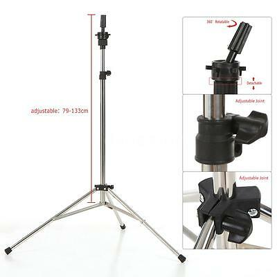 ANSELF Adjustable Hair Styling Wig Head Stand Holder Mannequin Head Tripod C1P1