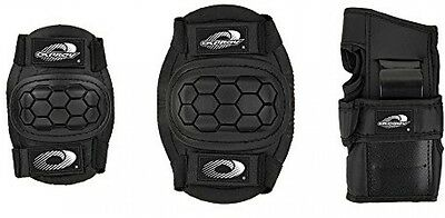 Osprey Protective Pad Set Gear Skate Cycle Knee Elbow Wrist Guard Medium Kids