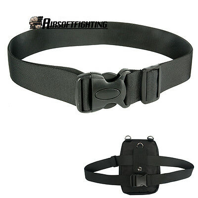 "1.5"" Tactical Nylon Waist Belt Shoulder Strap for Waist Medical Magazine Bag"