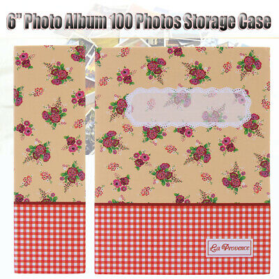 "4R 6"" Photo Album 100 Photos Storage Case Baby Wedding Family Memory Film Book"