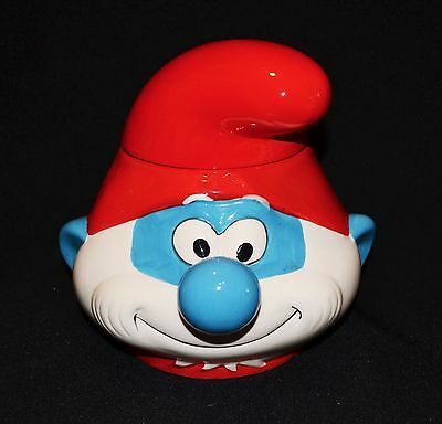 Papa Smurf Collectable Cookie Jar 2013