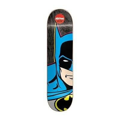 "Almost Willow Superhero Split Face 7.75"" Batman Skateboard Deck Free Postage"