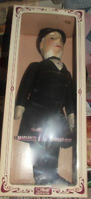 Steiff family signed! Gentleman In Morning Coat Felt Doll 1914 replica Newin Box