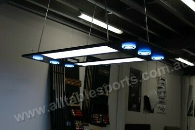 Ultra Modern LED Pool Billiards Snooker Light, White/Blue color,All Table Sports