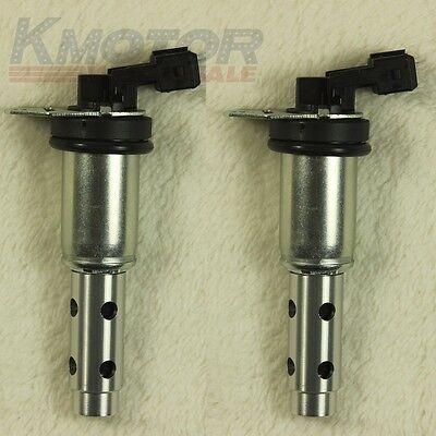 New 2 PCS 11367585425 Engine Variable Timing Control Valve Solenoid VVT For BMW