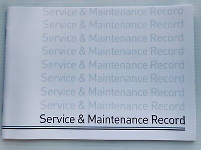 MAZDA Service Book  New Unstamped History Maintenance Record - Free Postage