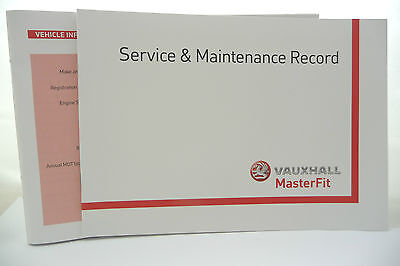 Vauxhall Service BOOK History Record  Corsa  Astra  Vectra  Signum  1995 To 2016