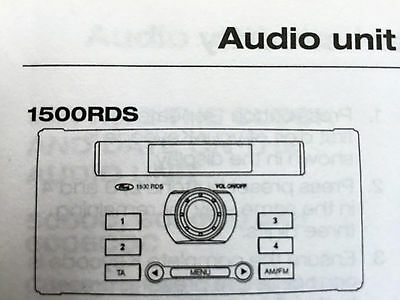 Ford 1500 rds radio cassette operating manual instruction audio book ford 1500 rds radio cassette operating manual instruction audio book publicscrutiny Choice Image
