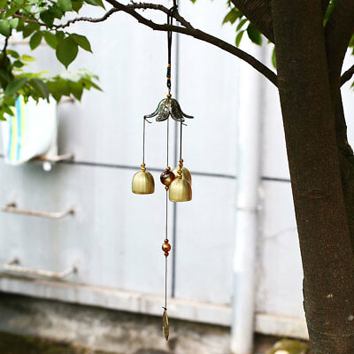 Metal Home Decor Living Decoration Copper Windchimes Garden Outdoor Tool